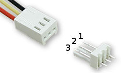 3 pin fan connector