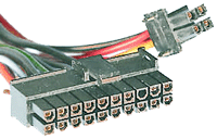 20+4 pin connector at the power supply cable