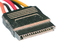 image of 15 pin SATA Power connector