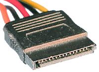 image of 15 pin SATA Power connector
